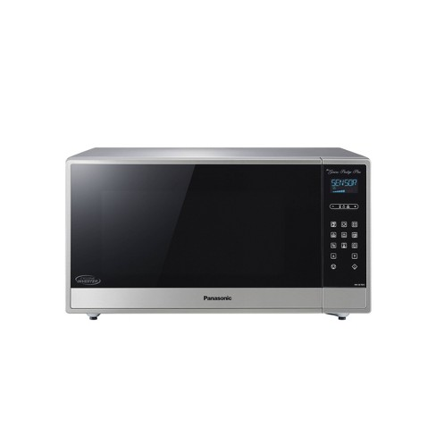 Panasonic 1.6 cu ft Cyclonic Inverter Microwave Oven - Silver - image 1 of 4