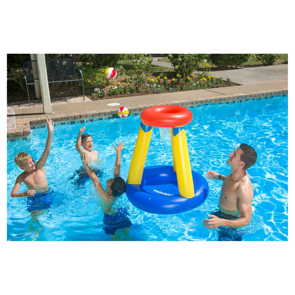Poolmaster Floating Basketball Game, Multi-Colored