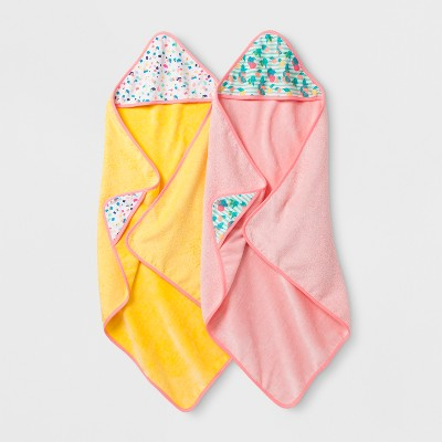 Oh Joy! Baby Girl Bath Towel Gift Set - Peach