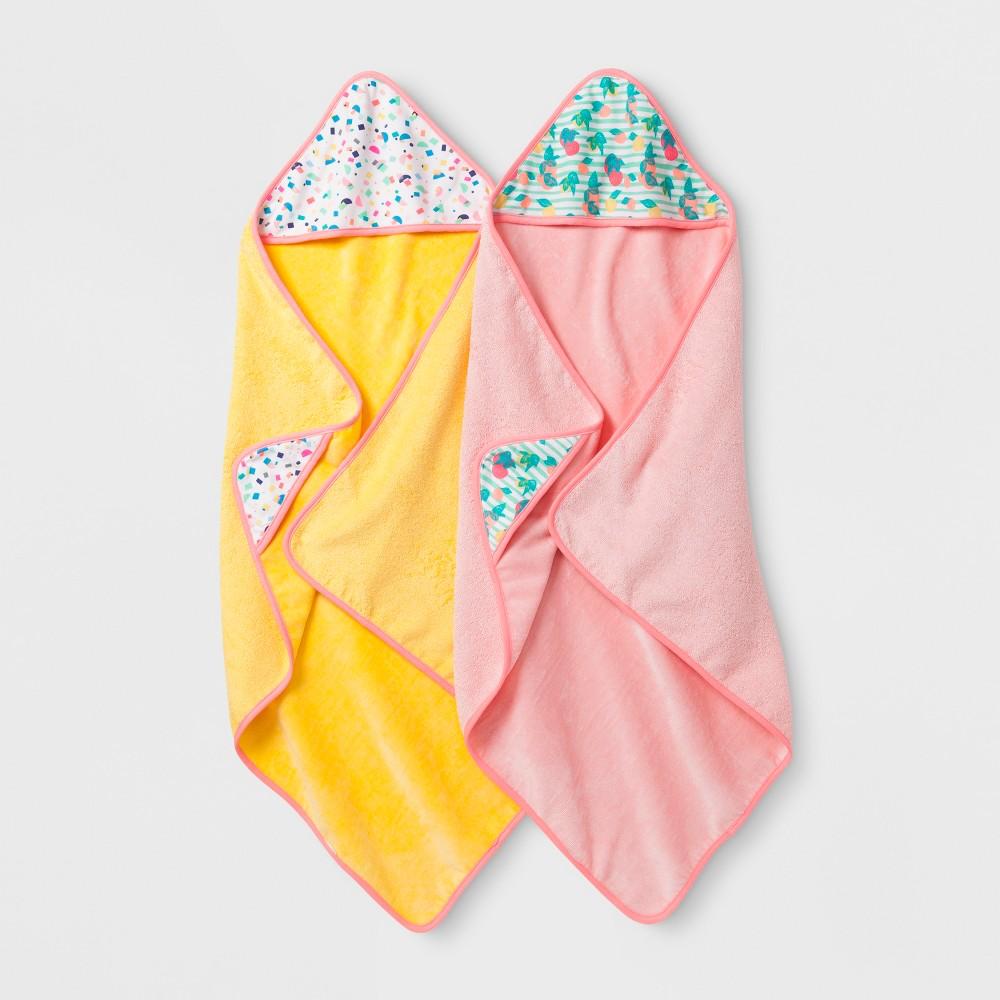 Oh Joy! Baby Girl Bath Towel Gift Set - Peach (Pink)