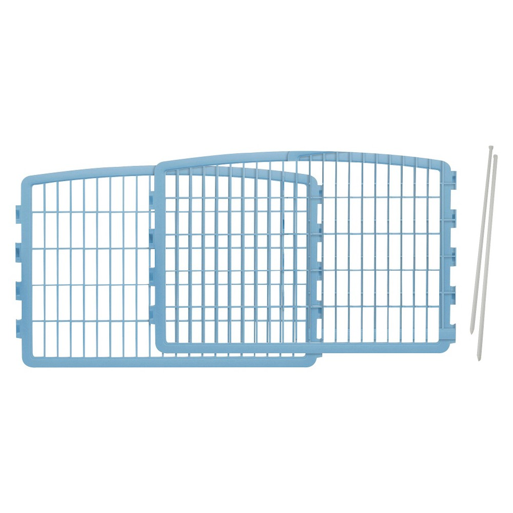 Iris Expansion Kit for Indoor/Outdoor Plastic Dog Pen - 24 - Blue