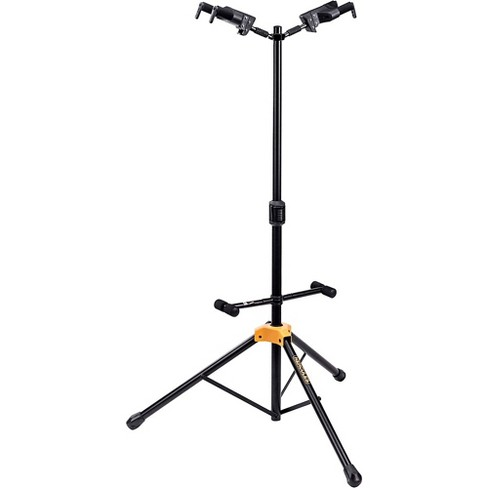 Hercules GS422BPLUS PLUS Series Universal AutoGrip Duo Guitar Stand with Foldable Backrest - image 1 of 4