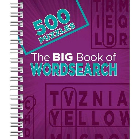 The Big Book of Wordsearch - (Spiral_bound) - image 1 of 1