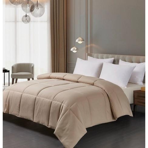 Microfiber Down Alternative Comforter - Blue Ridge Home Fashions - image 1 of 4