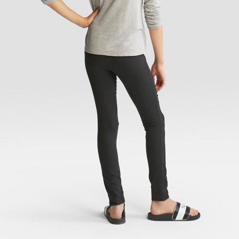 b9a1252fef91a0 Girls' Moto Leggings - Art Class™ Black : Target