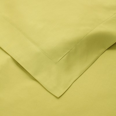 650-Thread Count Cotton Solid Duvet Cover and Sham Set - Blue Nile Mills