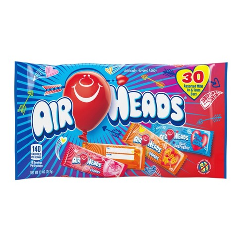 Airheads Valentine's Day Mini Bars Bag - 30ct/12oz - image 1 of 1