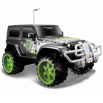 Maisto Off-Road Jeep Wrangler Rubicon - 1:16 Scale