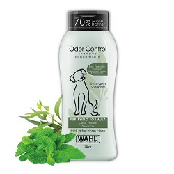 Wahl Odor Control Purifying Formula Eucalyptus Spearmint Pet Shampoo Concentrate 24 oz