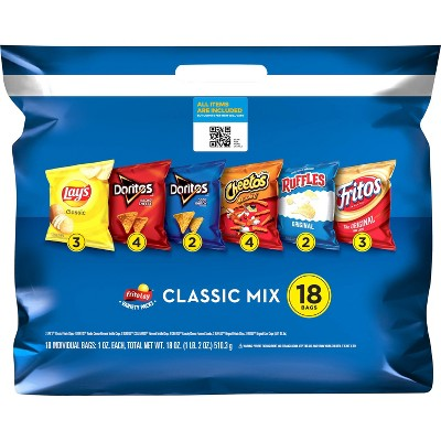 Frito-Lay Variety Pack Classic Mix - 18ct