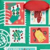 Papyrus Holiday Retro Stamps Medium Gift Bag - image 2 of 4