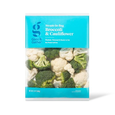 Broccoli & Cauliflower - 12oz - Good & Gather™