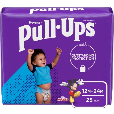 Huggies Pull-Ups Boys' Learning Designs Training Pants Jumbo Pack - Size 12-24M - 25ct