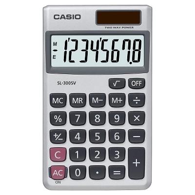Casio SL-300SV Basic Calculator