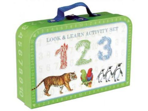 Look & Learn Activity Set - 123 (Paperback) (Laura Knowles) - image 1 of 1