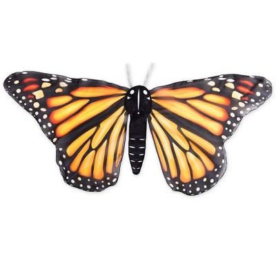 """Realistic Easy Fit Fabric Butterfly Wings for Imaginative Play, 46"""" Wingspan"""