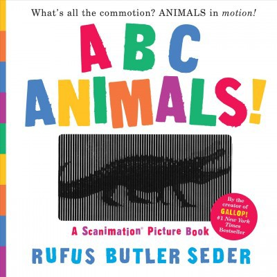 ABC Animals! : A Scanimation Picture Book (Hardcover)(Rufus Butler Seder)