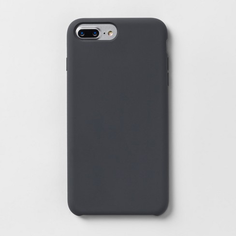 ab0a289172c Heyday™ Apple IPhone 8 Plus 7 Plus 6s Plus 6 Plus Silicone Case - Grey    Target