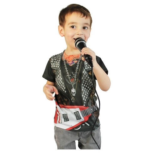 Kids' Toddler Rockstar Tee Costume - image 1 of 1