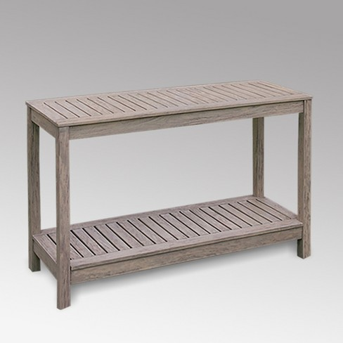 Westlake Patio Console Table Gray