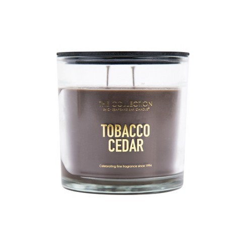 13oz Glass Jar 2-Wick Candle Tobacco Cedar - The Collection By Chesapeake Bay Candle - image 1 of 1