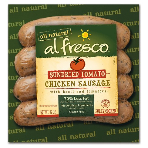 Al Fresco® Sweet Italian Chicken Sausage - 4ct/12oz - image 1 of 1