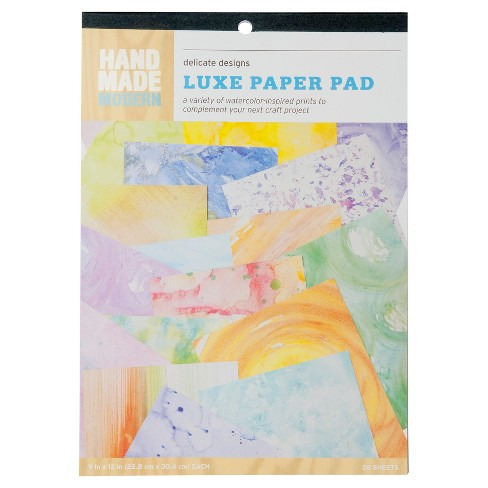 Hand Made Modern - Marbled Paper Pad, 26pgs - image 1 of 2