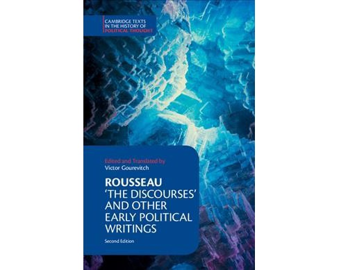 Rousseau: The Discourses and Other Early Political Writings -  by Jean-Jacques Rousseau (Hardcover) - image 1 of 1