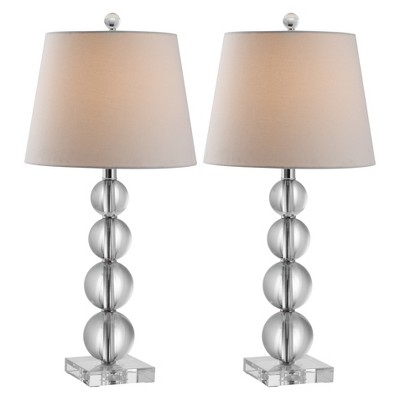Ordinaire Millie Crystal Ball Table Lamp Set   Safavieh® : Target