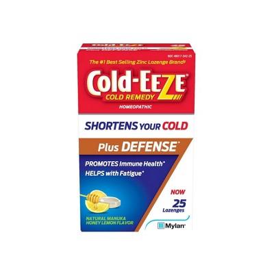 Cold-Eeze Plus Defense Manuka Honey Lemon Lozenges - 25ct