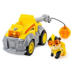 PAW Patrol Mighty Pups Toy Vehicle Deluxe Vehicle - Rubble