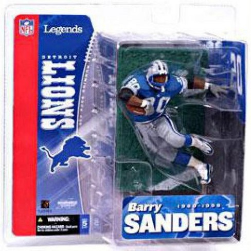 McFarlane Toys NFL Detroit Lions Sports Picks Legends Series 1 Barry Sanders Action Figure [Blue Jersey] - image 1 of 4