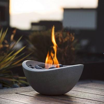 Tabletop Wave Gel Fuel Fire Bowl - Terra Flame