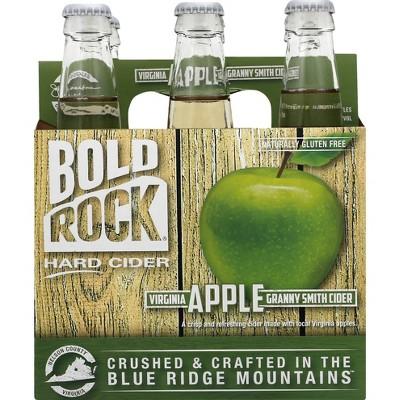 Bold Rock Hard Apple Cider - 6pk/12 fl oz Bottles