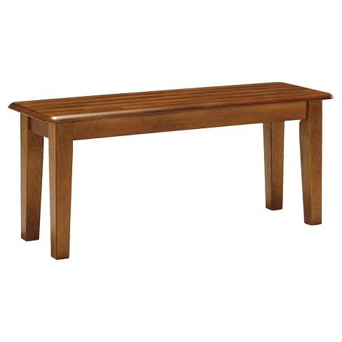 Berringer Large Dining Room Bench Wood/Rustic Brown  - Signature Design by Ashley - image 1 of 4