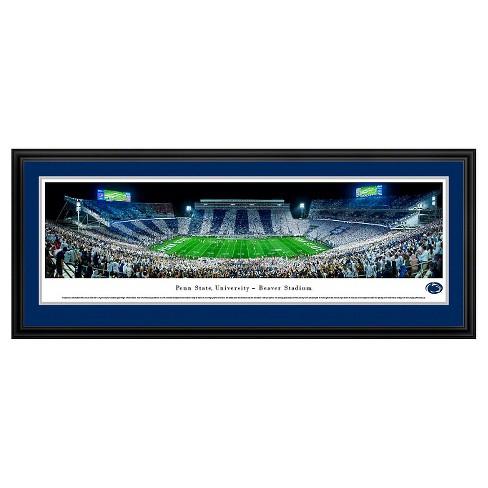 NCAAPenn State Nittany Lions BlakewayFootball Stadium View Framed Wall Art - image 1 of 1