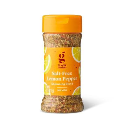 Salt Free Lemon Pepper Seasoning Blend - 2.5oz - Good & Gather™