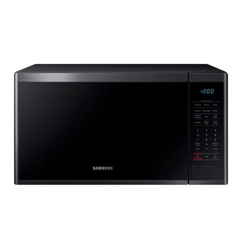 Samsung 1.4 Cubic Foot Countertop Microwave Oven, Black (Certified Refurbished) - image 1 of 4