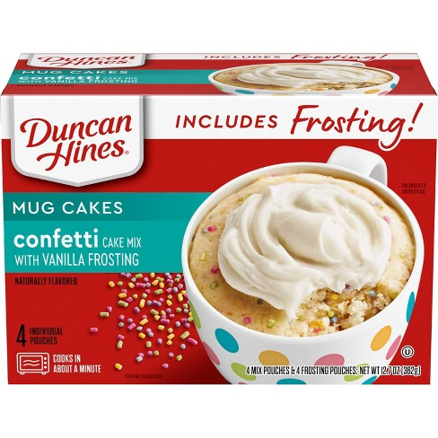Duncan Hines Signature Confetti Cake Baking Mix with Frosting - 12.9oz - image 1 of 3