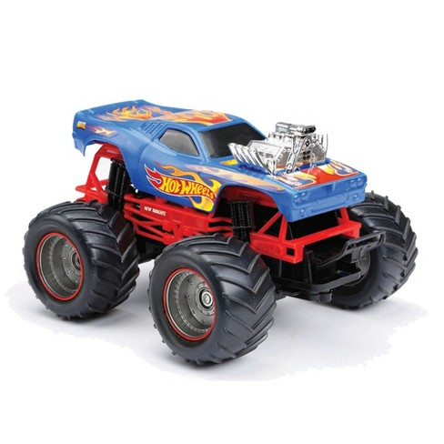 New Bright 1:24 RC Monster Truck Hot Wheels Rodger Dodger - image 1 of 3