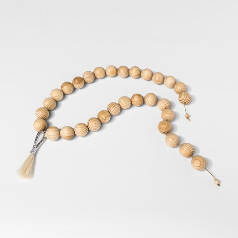Wood Bead Garland - Threshold™ - image 1 of 1