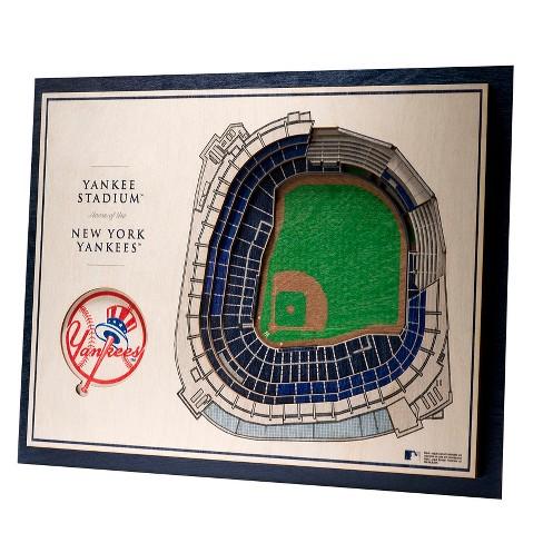 MLB New York Yankees 5-Layer StadiumViews 3D Wall Art - image 1 of 5