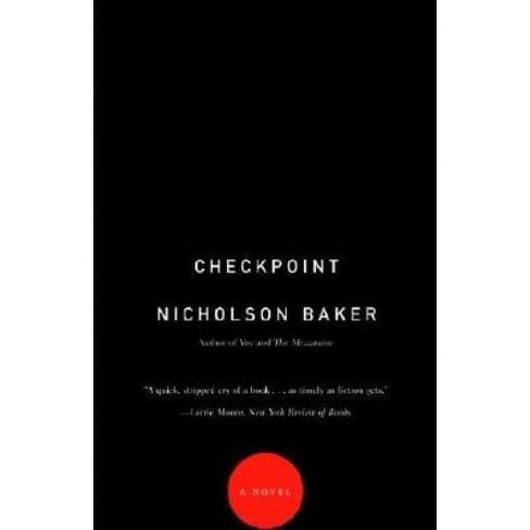 Checkpoint - (Vintage Contemporaries) by  Nicholson Baker (Paperback) - image 1 of 1