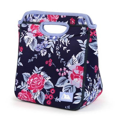 Arctic Zone Lunch Tote Set - Midnight Floral