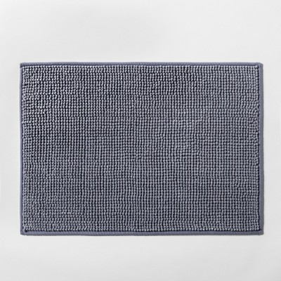 "17""x24"" Solid Bath Rug Blue - Made By Design™"