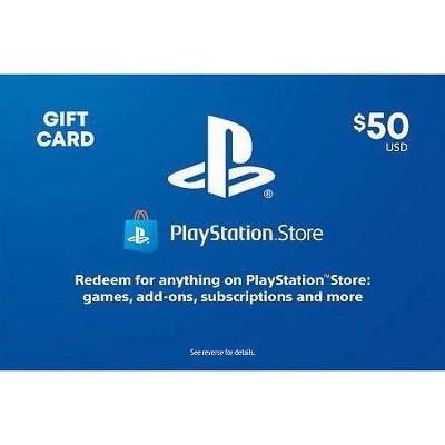 PlayStation Store Gift Card (Digital)