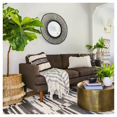 Global Living Room Styled by Emily Henderson