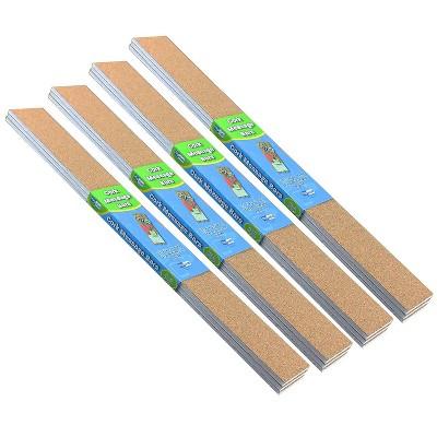 """Flipside Cork Message Bars 2"""" x 20"""" Natural Color 3 Per Pack 4 Packs FLP10060-4"""