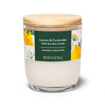Lemon & Coriander Candle - 5.5oz - Everspring™