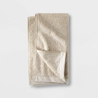 Slub Accent Organic Hand Towel Sand - Casaluna™